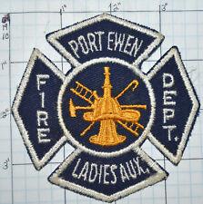Fire Boat New York Port Ewen Volunteer Fire Department Marine Unit Ulster County