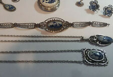 New listing BEAUTIFUL DELFT JEWELRY PIECES