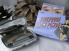 Benefit - NEW -FOOLPROOF Brow POWDER - #No 3  - Full Size & Brand New & Boxed