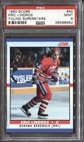 Eric Lindros 1990 Score Young Superstars Hockey # 40 Rookie RC PSA 9 Mint
