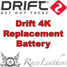 Drift Batterie de remplacement pour le 4K Action Caméra Cam