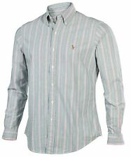 Ralph Lauren Striped Button Down Men's Casual Shirts & Tops