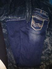"Brand New Amethyst Women Jeans Blue Low-Rise Flare  W28/""/_L31/"" Size 5 Short"