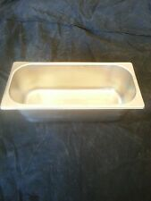 Ice Cream Amp Gelato 5 Liter 5l Display Case Pan New Stainless Steel Nsf