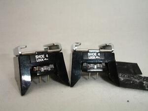 OLYMPUS OM SHOE 4 - FLASH hot shoe adapter (two) for OM1n OM2n camera, lot of 2