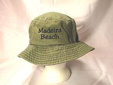 Madeira Beach Florida Green Boonie Hat