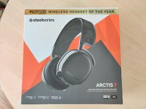 SteelSeries Arctis 7 Wireless / Kabellos Gaming Headset - Schwarz ✅NEU & OVP✅