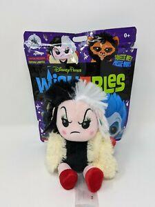 Cruella De Vil 101 Dalmatians Wishable Disney Villains LR Plush Wishables