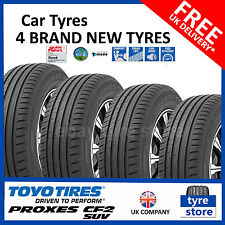 4X New 215 70 15 TOYO PROXES CF2 SUV 98H 215/70R15 2157015 *C/B RATED* (4 TYRES)