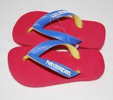 5233217b7 NWOB Havaianas Toddlers Little Kids Red   Blue Flip Flops sz 23 24 US 9