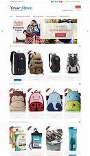 Backpacks Store Website - Amazon Affiliate Store on AutoPilot