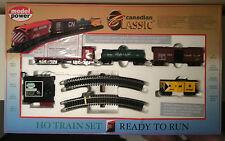 HO Train Set Ready To Run Canadian Classic Models Railroads CN Rail Cars Lighted