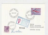 balloon post stamps cover  ref 18770