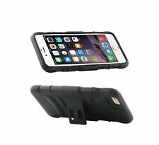 Matte Fitted Cases with Kickstand for Apple Phones