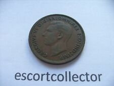 1946 GEORGE VI - ONE PENNY -  1d -  UK COIN - Freepost UK