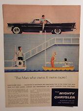 1958 Chrysler Saratoga Ad - Must See !!