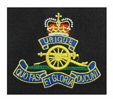 Royal Artillery Blazer Badge Embroidered R1822