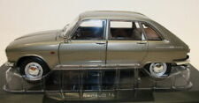 Norev 1/18 Scale - Renault 16 1968 Grey Metallic Diecast Model Car