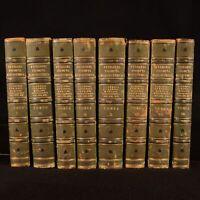 1860-1863 8 Volumes Prompta Bibliotheca F. Lucii Ferraris Library Set