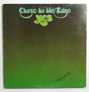 Tested- Yes - Close To The Edge Atlantic LP SD 7244