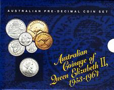 Australian Pre-decimal Coin Set - Queen Elizabeth II - Dated 1957