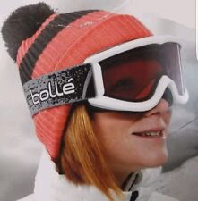 Adult Bolle Snowboard/Ski Snow Goggles w/Interchangeable Storm Lens, White New