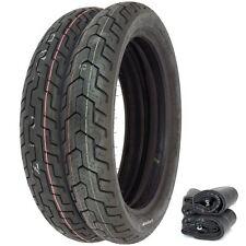 Dunlop D404 Tire Set - Honda CM400A/T 79-80 CM400E CM450E - Tires and Tubes