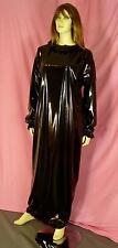 Zofenkleid Maid dress Cameriere vestono zofe devot NEU PVC black Diargh