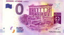 GRECE Athènes, Acropolis, 2017, Billet 0 € Souvenir