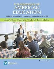 What's New in Foundations / Intro to Teaching: Foundations of American...