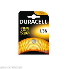 3 x Duracell Batterie CR1/3N Lithium 160 mAh 3,0V L 76  DL1/3N CR11108 Blister