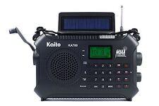 Kaito KA700 Next Gen Emergency Radio (vs. KA500, KA600) BT, SD, RCD, etc. Black