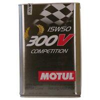 Motul 300V Competition 15W50 5 LITRI per AUTO DA COMPETIZIONE