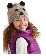 bonnet animal panda marron enfant 3 4 5 6 ans hiver GL075
