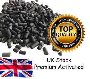 Premium Activated 1.5MM 4MM Carbon Charcoal Aquarium Fish Tank Pond Filter Media