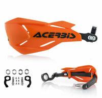 Acerbis Handguards Enduro MX Handprotektoren X-Factory orange schwarz