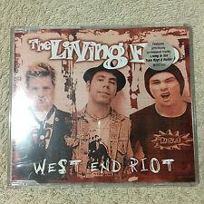 The Living End – West End Riot CD Single _Modular Recordings – MODCS005 _Good+