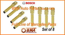 Mercedes R107 W124 W126 W201 BOSCH OEM Fuel Injector -  000 078 56 23 - SET OF 8