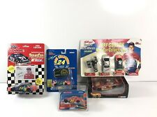 Lot of 5 Mostly Vintage Nascar Diecast Cars Hotwheels Racing Champions Winners