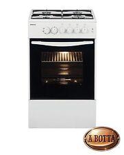Cucina a gas con 4 fuochi Beko Css42014fw Forno elettrico - Fornello Bianco