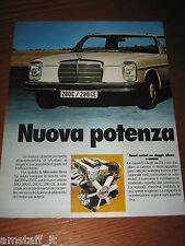 BL20=1972=MERCEDES 280C/280CE=PUBBLICITA'=ADVERTISING=WERBUNG=