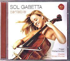 Sol GABETTA: CANTABILE Bizet Canteloube Delibes Faure Offenbach Tchaikovsky CD