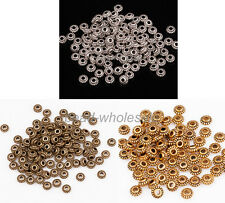 Free ship 170 pcs bronze plated nice spacer beads 7x6mm B3166