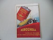 advertising Pubblicità 1933 AEROSHELL AERO SHELL OLIO OIL