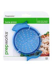 Progressive Prepworks Tuna Vegetable Can Press Drainer Strainer, Dishwasher Safe
