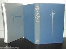 Saint St JOAN of ARC: Vita Sackville West FOLIO SOCIETY 100 Hundred Years War HB