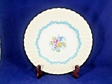 """Minton ARDMORE (Ivory Rim, Turquoise, # 363) Luncheon Plate 9"""""""