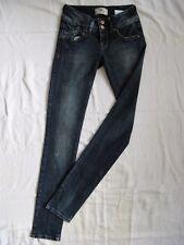 LTB Molly Damen Blue Jeans W24/L32 Stretch Röhre low waist super slim fit tube