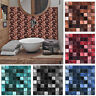 25pcs Mosaic Wall Sticker Self-adhesive Tile Stickers Bathroom Kitchen Decor