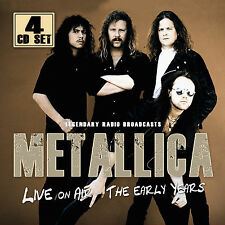 METALLICA New Sealed 2018 LIVE 1980s & 1990s CONCERTS 4 CD BOXSET